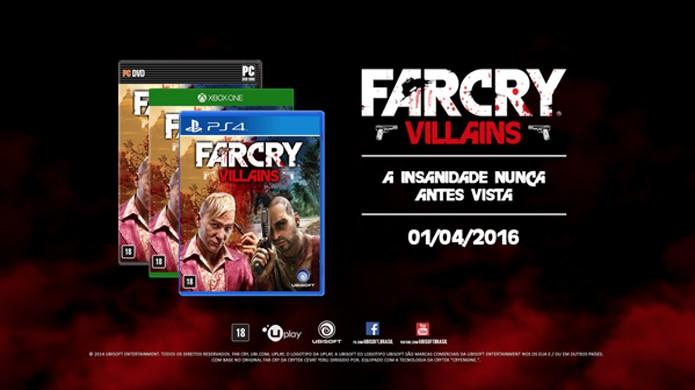 Far Cry Villains se aproveita do carisma dos vilões da série (Foto: Divulgação)