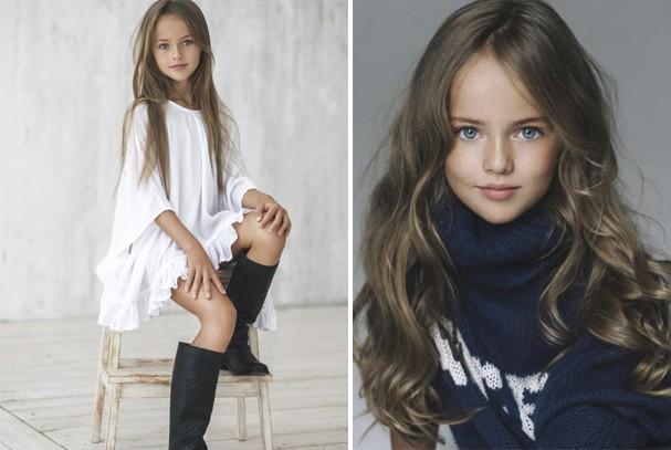 Menina russa de 8 anos é considerada a garotinha mais bonita do mundo. Será?