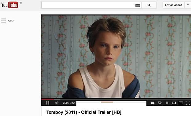 Cena do filme francês 'Tomboy', de 2011 (Foto: YouTube/Reprodução)