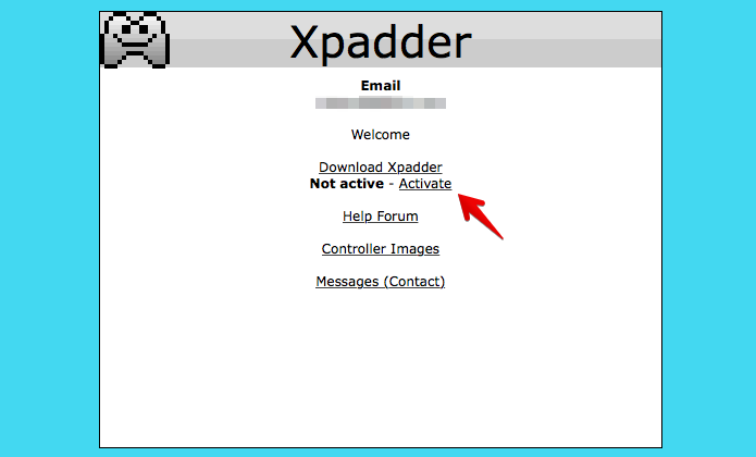 Adquirindo uma licença de uso do Xpadder (Foto: Reprodução/Helito Bijora)