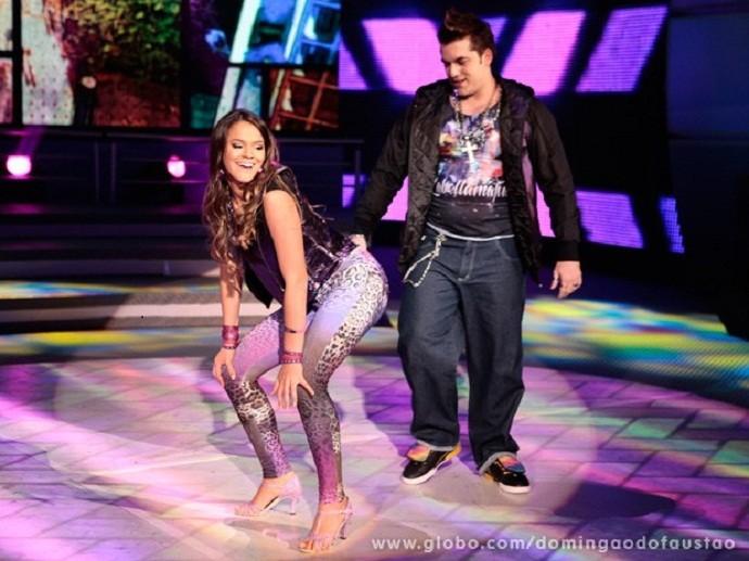 Bruna Marquezine na 10ª edição da Dança dos Famosos (Foto: Domingão do Faustão/TV Globo)