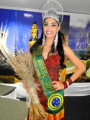 A amazonense Sheislane Hayalla, eleita Miss Brasil Globo 2013 (Foto: Octávio D'Ávila/Divulgação)