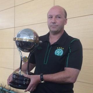 Marcelo Zolet Chapecoense Taça Sul-Americana  (Foto: Leonardo Lourenço)