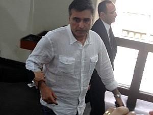 Suposto pivô do crime, Marcos Souto não quis comentar o caso (Foto: Cláudio Alfon/CBN Amazônia/Reprodução)