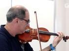 Professor une matemática e violino: 'Não existe música sem cálculo'
