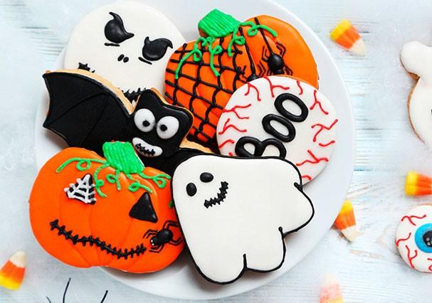 Biscoitos fofos decoram sua festa de Halloween e são deliciosos (Foto: Reprodução)