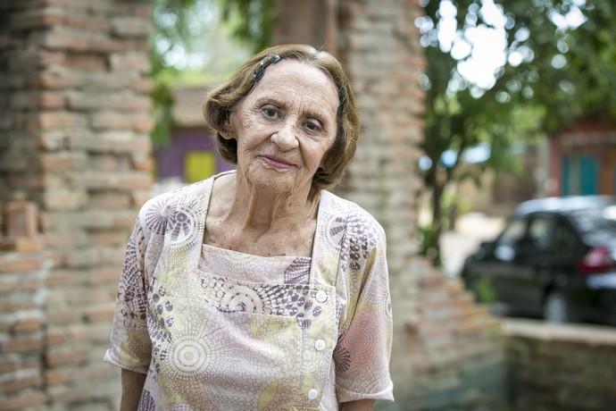 Dona Sinha está de volta a Arraial do Sol Nascente, e Laura Cardoso também ♥ (Foto: Isabella Pinheiro/Gshow)