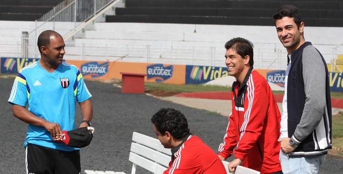 Raphael Magno Teles, diretor de futebol do Botafogo-SP (Foto: Luis Augusto/Ag. Botafogo)