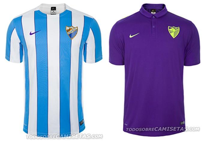 Camisas espanhol Malaga