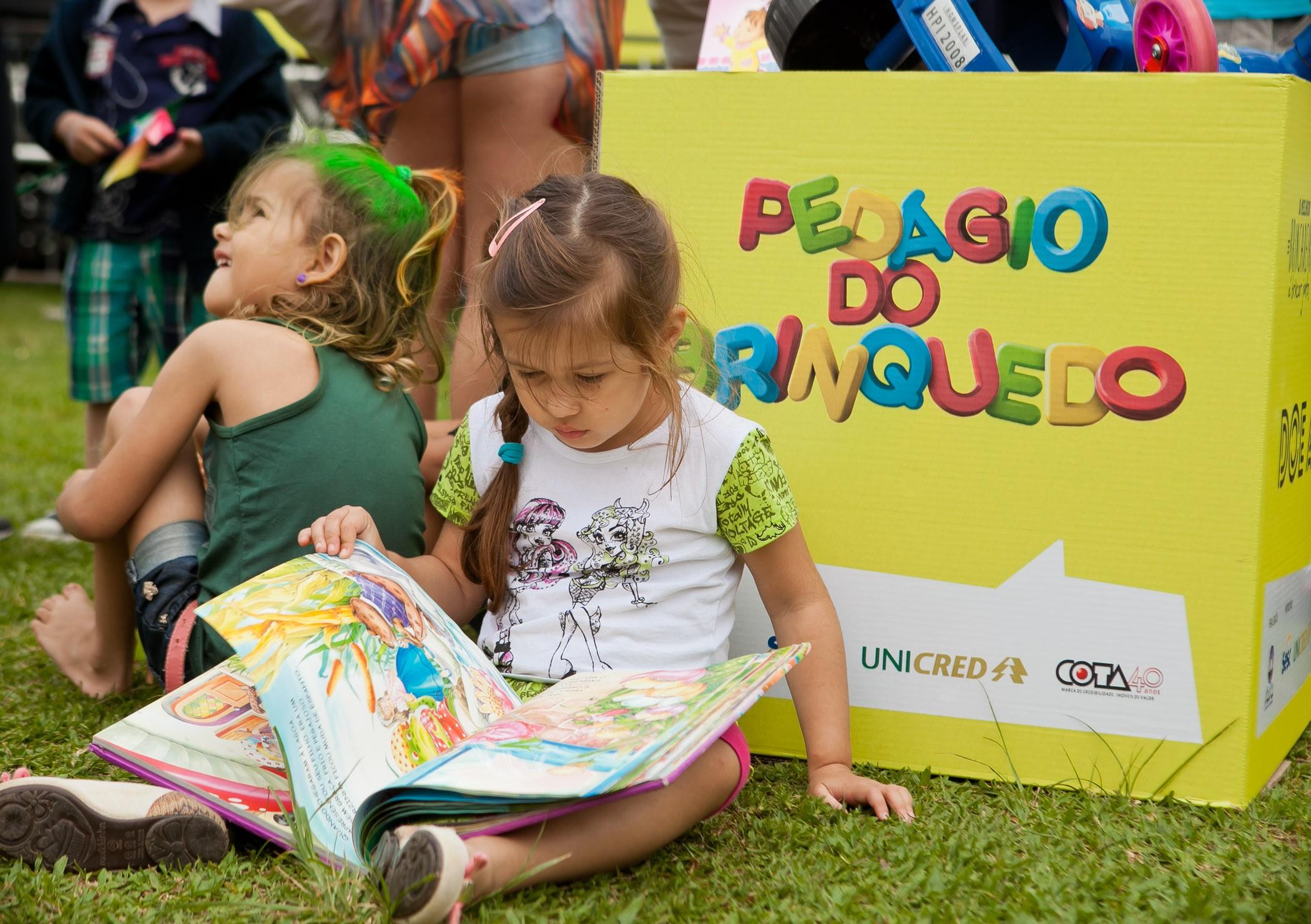 Atividades recreativas foram oferecidas gratuitamente (Foto: José Luiz Somensi/Divulgação)