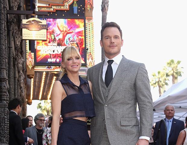 Chris Pratt e Anna Faris (Foto: Getty Images)
