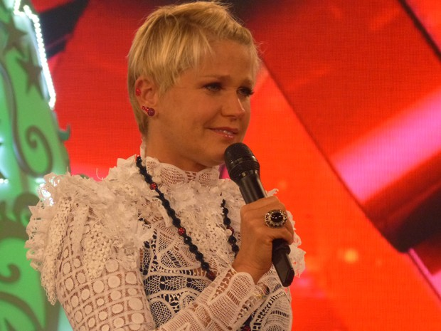 Xuxa grava programa especial de Natal (Foto: TV Xuxa/Tv Globo)