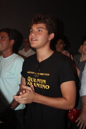 Gabriel Kaufmann em espetáculo na Zona Oeste do Rio (Foto: Rogerio Fidalgo/ Ag. News)