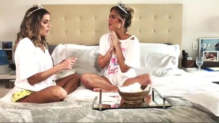 Deborah Secco e Giovanna (Foto: Reprodução/Instagram)