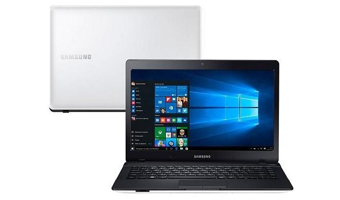 Notebook Samsung E21  vem com Windows 10 (Foto: Divulgação/Samsung) (Foto: Notebook Samsung E21  vem com Windows 10 (Foto: Divulgação/Samsung))