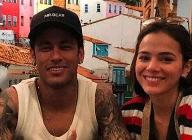 Neymar e Bruna Marquezine (Foto: Reprodução)