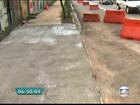 Buraco é reparado na Radial Leste após solapamento da via