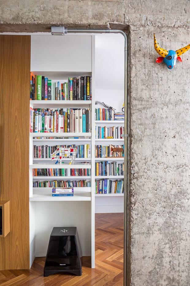 Azulejos de Athos Bulcão marcam reforma de apartamento brasiliense (Foto: Haruo Mikami)
