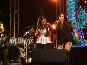 Irmãs Simone e Simaria formam a banda de forró Coleguinhas (Foto: Ivaldo Bezerra / Lumen Fotos)