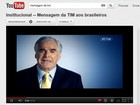 TIM coloca presidente do conselho da empresa em comercial de TV 