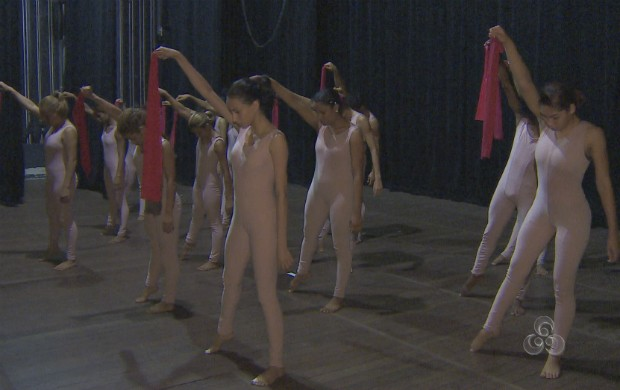 Ensaio do grupo de dança Kadosh (Foto: Reprodução/TV Amapá)