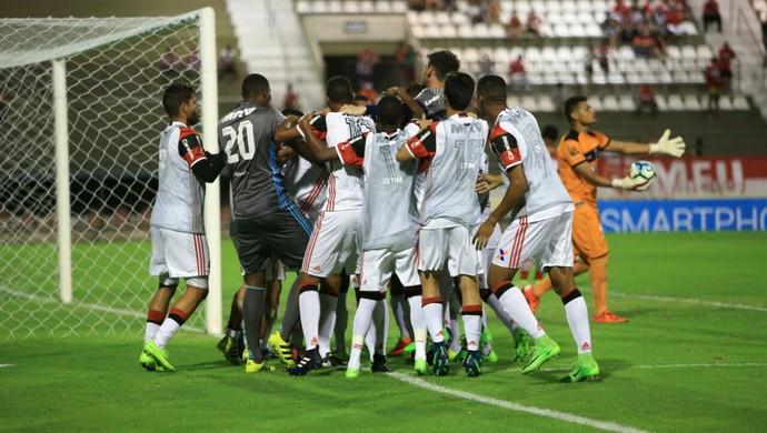 CRB x Flamengo, pela Copa do Brasil Sub-20 (Foto: Aílton Cruz/Gazeta de Alagoas)