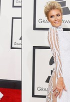 Aprenda a fazer o make e o penteado de Paris Hilton no Grammy Awards