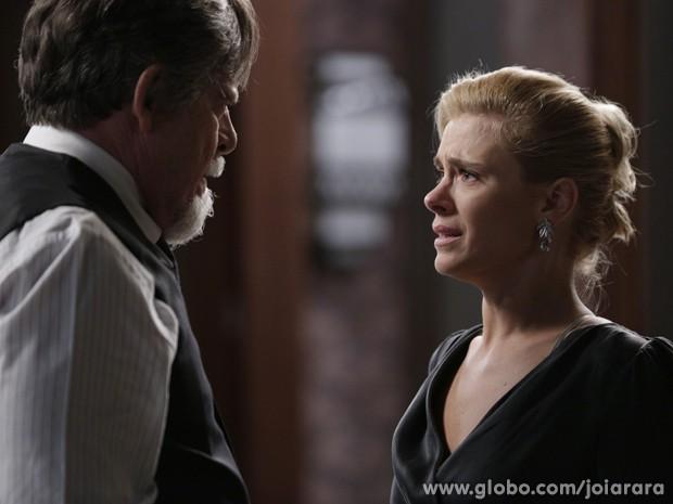 Joalheiro ameaça mandar prender esposa por adultério (Foto: Ellen Soares/TV Globo)