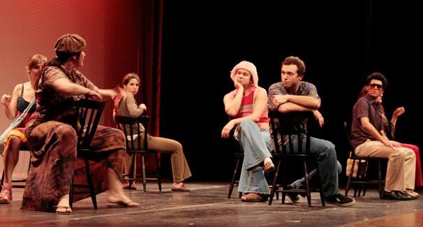 Elenco de 'Bailei na Curva': peça celebra 30 anos com nova montagem (Foto: Marcelo Liotti)