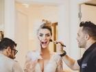 Famosos vão à festa de casamento de Rayanne Morais e Latino
