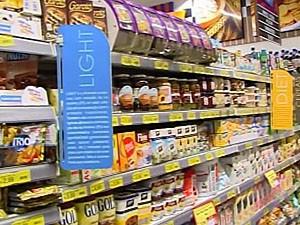 Supermecados investem nas seções com alimentos funcionais (Foto: Reprodução/ Tv Integração)