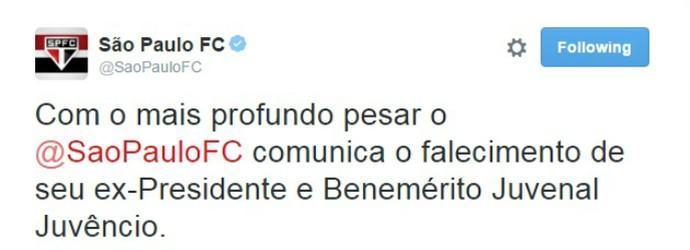 Twitter São Paulo (Foto: Reprodução/Twitter)