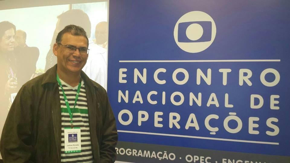 Luciano Peixinho participou de Encontro Nacional de Operações em São Paulo (Foto: Arquivo Pessoal/ Luciano Peixinho)