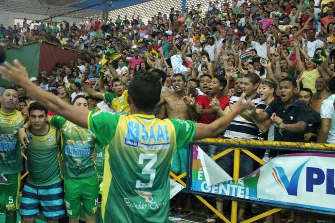 Curaçá x Garapa, Final da  Copa TV Grande Rio de Futsal (Foto: Emerson Rocha)