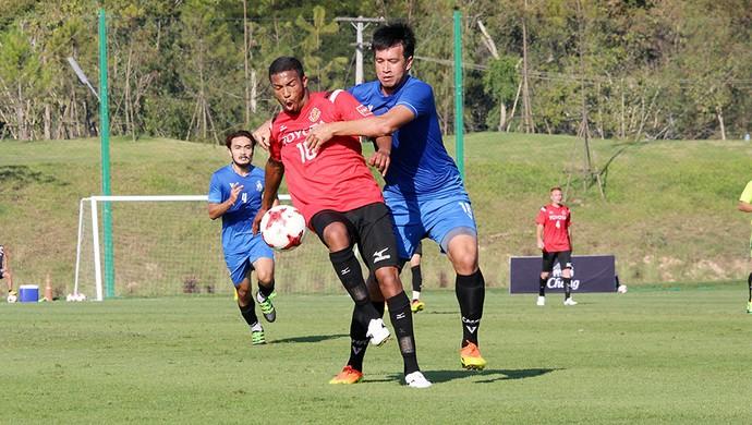 Felipe Garcia meia atacante Nagoya Grampus Japão (Foto: Divulgação / N. G. E.)