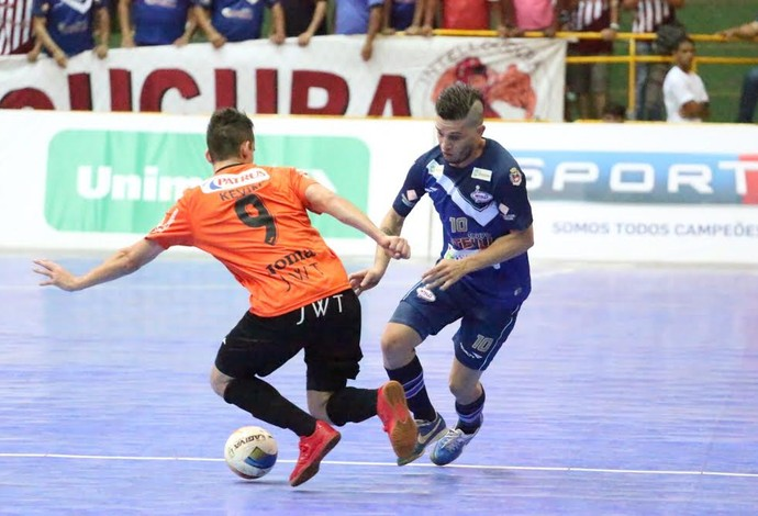 Cabreúva Orlândia Carlos Barbosa final liga nacional de futsal (Foto: Márcio Damião/Divulgação)