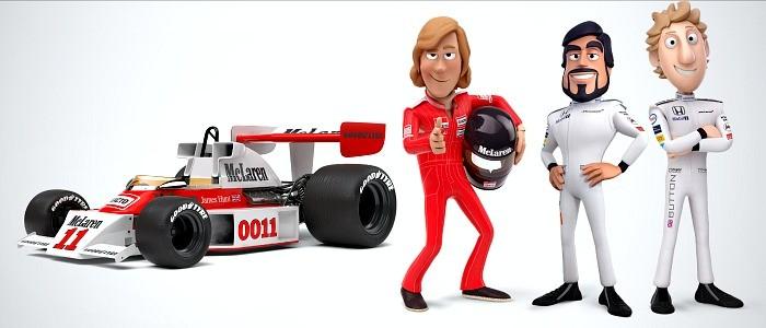 Tooned McLaren