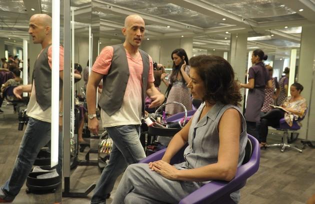 Em cena de 'Divã', no qual contracenou com Lilia Cabral (FOTO: Renato Rocha Miranda/ TV Globo)
