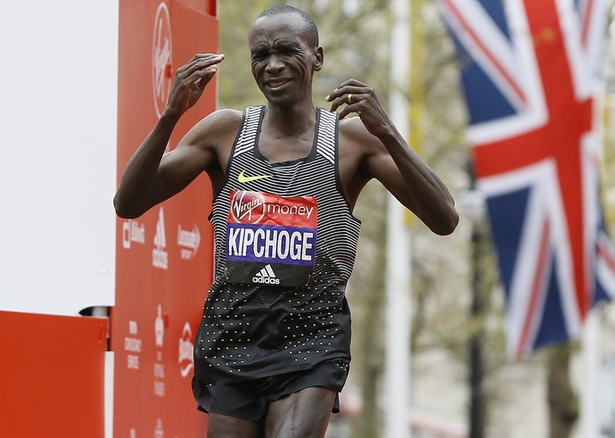 Eliud Kipchoge Maratona de Londres Quênia (Foto: AP Photo/Kirsty Wigglesworth)