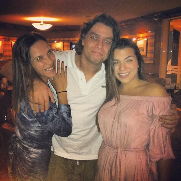 Fábio Assunção e Petra Mattar, filha de Maurício Mattar (Foto: Instagram / Reprodução)