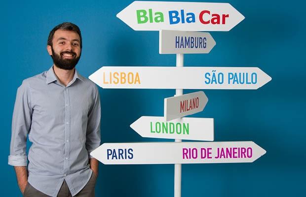Ricardo Leite, CEO do Bla Bla Car (Foto: Divulgação)
