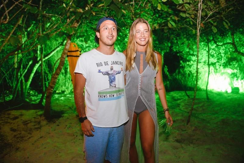 Marcelo Menezes e Marcella Minelli  (Foto: André Ligeiro)