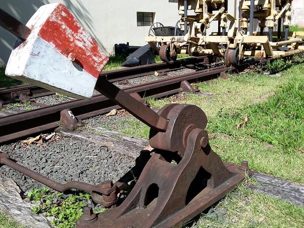 Monumentos e maquinários marcam a história da Estrada de Ferro Sorocabana  (Foto  Stephanie Fonseca de14794623