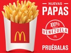 Batata frita volta ao McDonald's da Venezuela após 10 meses
