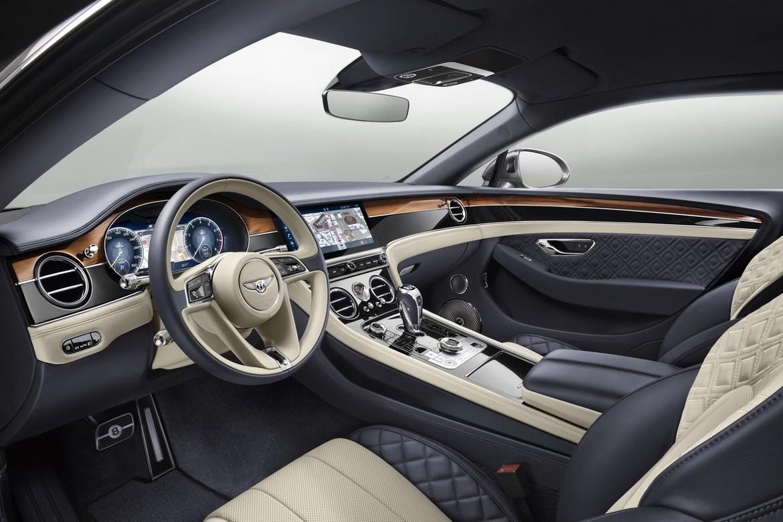 O novo Bentley Continental GT (Foto: Divulgação)