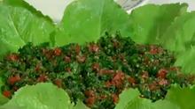 Simples e prática: aprenda uma deliciosa receita árabe de tabule  (Reprodução/RPC)