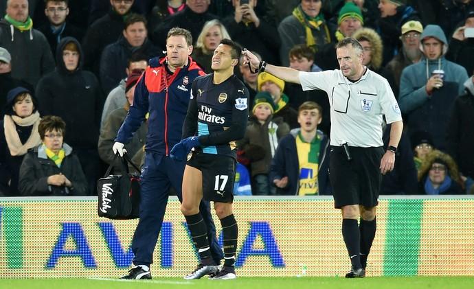 Sánchez Arsenal Norwich (Foto: Getty Images)