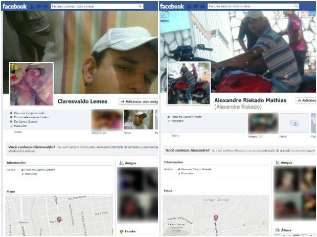 Detentos administravam contas no Facebook de dentro do presídio (Foto: Reprodução/Facebook)