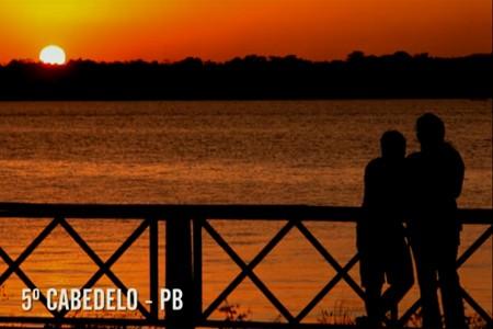 pordosol_Cabedelo (Foto: reproducao tv)