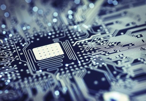 Circuito de sistema de tecnologia 4K (Foto: Shutterstock)